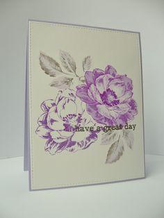 Altenew Beautiful Day, altenew inks shades of purple + moon grey
