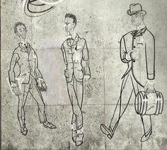"""José de Almada Negreiros, """"Retrato de Fernando Pessoa"""", 1954, óleo sobre tela, 200 x 200 cm, Museu da Cidade, Lisboa. Executado para o café-restaurante Irmãos Unidos, que fora frequentado por Fernando Pessoa"""