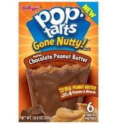 CesPop Tartsbeurre de cacahuètes et glaçage chocolat sont une nouveauté américaine. Leurs coeurs riches en beurre de cacahuètes et leurs b...
