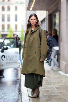 olive. #LeilaYavari in NYC.