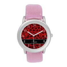 >>>Low Price Guarantee          	Personalized name red leopard pattern wrist watches           	Personalized name red leopard pattern wrist watches In our offer link above you will seeHow to          	Personalized name red leopard pattern wrist watches Review from Associated Store with this De...Cleck Hot Deals >>> http://www.zazzle.com/personalized_name_red_leopard_pattern_watch-256229873421191852?rf=238627982471231924&zbar=1&tc=terrest