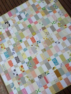 scrappy quilt - no* triangles