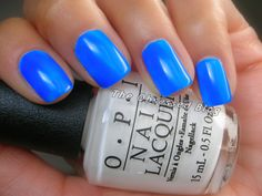 @OPI Nail Blue it out of Proportion Neon Revolution mini set @OPI Nails UK