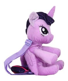 Loving this My Little Pony Twilight Sparkle Plush Backpack on #zulily! #zulilyfinds