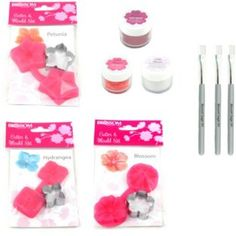 Buy Blossom Art Pretty Flowers Cutter and Mould Set at Argos.co.uk - Your Online Shop for Baking equipment.