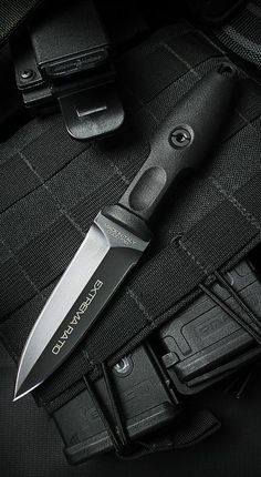 Extrema Ratio Knives 314BL Pugio Tactical Fixed Blade Knife Dagger