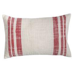 Evergreen Toile Morgan Cotton Lumbar Pillow