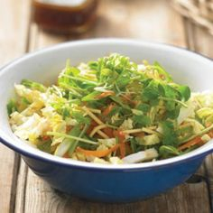 Chinese cabbage and noodle salad