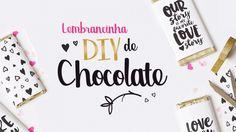 Lembrancinha Diy de chocolate
