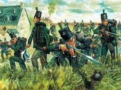 El 95º de Rifles en La Haye Sainte Más en www.elgrancapitan.org/foro
