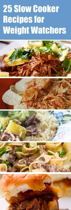 25 Slow Cooker Recipes for Weight Watchers - Recipe Diaries