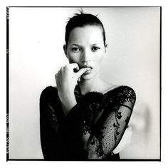 Kate Moss by Paolo Roversi.