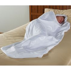 The Traveler's Bed Bug Thwarting Sleeping Cocoon - Hammacher Schlemmer - made specially from woven fabric that is impervious to bed bugs @Diana Avery Avery Dalton