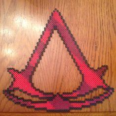 Assassin's Creed perler beads by thatperlernerd