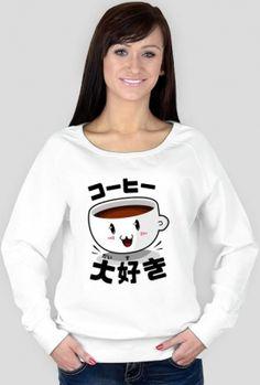 http://originto.com/produkt/2520139-Bluza-damska-Kocham-kaw-po-japo-sku.html Koszulki ze śmiesznym nadrukiem #ubrania #koszulka #nihongo #nippon #japoński #japanese #japońskie #japonia #język #fashion #anime #manga #odzież #hiragana #katakana #kanji #t-shirt #t-shirty  #koszulki #bluzy #nadruk #nadrukiem #otaku #nihon #tshirt #tshirty #coffee #kawa #koohii #daisuki #kawosz #kawoszka #kawusia Koszulka z kawą Bluza z kawą Koszulka kocham kawę T-shirt kocham kawę I Love Coffee