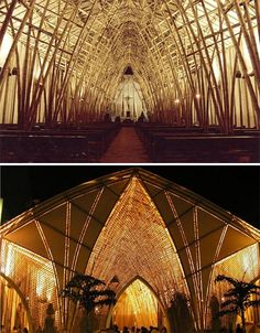 Bamboo Architecture Velez Church