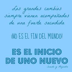 NADIE DIJO QUE FUESE FACIL... Y NADIE DIJO QUE FUESE IMPOSIBLE!! www.seneidayalejandroaviles.com/avanza