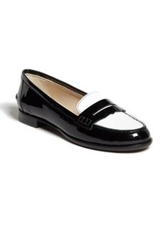 L.K. Bennett Vera Leather Loafer Flat