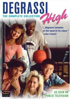 Degrassi High (complete series DVD collection; includes School's Out! and Degrassi Talks)