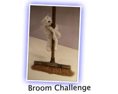 BROOM CHALLENGE has simple rules, but is pretty tricky to do. It's just brilliant to watch.  GET SET  You need a broomstick.  Make sure ther...