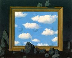 René Magritte – The Great Tide (La Grande Marée)