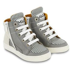 MAA - Leather high-top trainers - 120781
