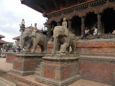Architecture from Nepal: Elephants