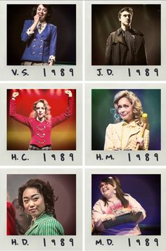 This will always be my forever Heathers cast. You have to be dang good to replace them