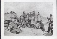 Bandiera della Compagnia Tom Mooney del Battaglione Lincoln