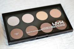 NYX - the best cheap contouring face palette on the market //JennySueMakeup.com