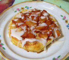 Easy Apple Danish made with Pillsbury Grand biscuits.