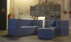 point of sale - grossstadtbuero raumkommunikation Point Of Sale, Outdoor Sofa, Outdoor Furniture, Outdoor Decor, Gymnastics Mats, Making Out, Couch, Design, Home Decor