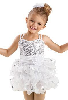 Little M -- Girls' Sequin Bubble Skirt Dress - Weissman Costume