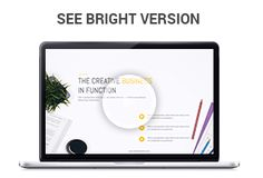 MANGO Powerful Presentation Template Get a modern Powerpoint Presentation that is beautifully designed and functional. This slides comes with infographic elements, charts graphs and icons.  This...