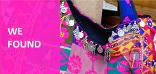 Velvet poufs | Vintage fabric cushions | Colorful throw pillows