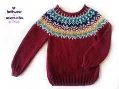 Wool Sweater Icelandic Adults Sweater Kids Knit Nordic