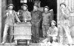 Old time Gold Miners - Cripple Creek, Colorado Cripple Creek Colorado, Leadville Colorado, Aspen, Louisiana Purchase, Mountain Man, Mountain High, Central City, Coal Mining, Interesting History