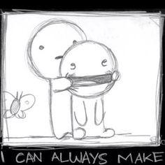 u smile!