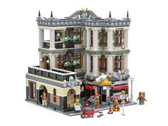 The Architect's Office - Lego modular buildings - Lego Minecraft, Lego Lego, Lego Batman, Minecraft Skins, Minecraft Buildings, Lego Modular, Modular Office, Lego Design, Modular Design