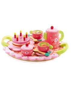 Tee-Party-Set LILI ROSE aus holz