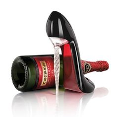 "Christian Louboutin ""Le Rituel"" limited edition for Champagne Piper-Heidsieck in 2009"