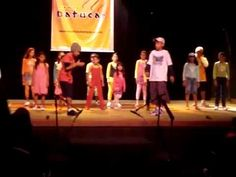 Children making music with body percussion (Brazil)