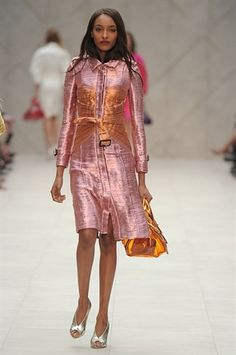 lustrously chic from Burberry Prorsum
