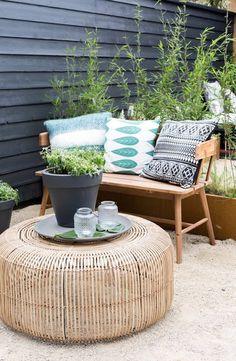 Aménager un petit coin cosy dans le jardin