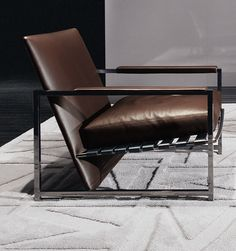 Atlan armchair by Rodolfo Dordoni by Minotti | Milan Design Week, iSaloni 2015, Milano, Fuorisalone