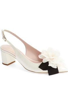 kate spade new york 'mettie' slingback pump (Women) available at #Nordstrom
