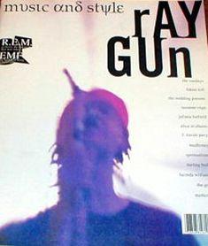 "cMag128 - Ray Gun Magazine cover ""R.E.M."" by David Carson / Issue 2 / December 1992"