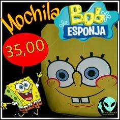 Veja nosso novo produto Mochila Bob Esponja ! Se gostar, pode nos ajudar pinando-o em algum de seus painéis :)