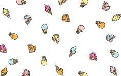 Ice cream desktop wallpaper