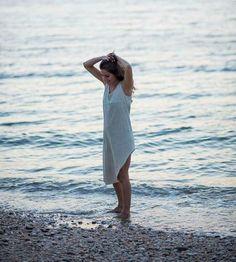 Asymmetrical Organic Cotton Knit Tank Dress by Miakoda on Scoutmob Shoppe